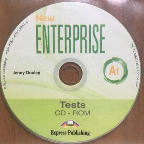 NEW ENTERPRISE 1 TEST CD-ROM