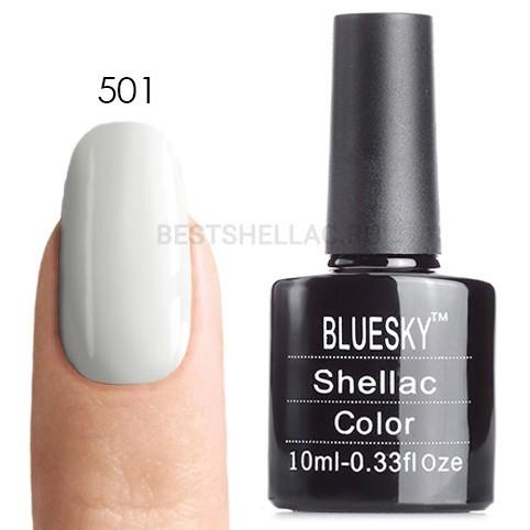 Bluesky shellac Гель-лак Bluesky № 40501/80501 (LV004) Cream Puff, 10 мл 501.jpg