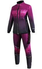 Женский элитный беговой костюм Noname Pro Running DigiPrint Violet