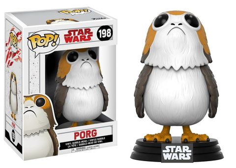 Фигурка Funko POP! Bobble: Star Wars: The Last Jedi: Porg w/ Chase 14818