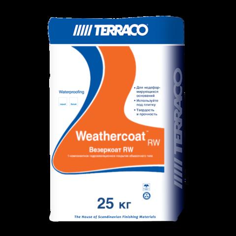 Terraco Weathercoat RW/Террако Везеркоат RW однокомпонентное цементное гидроизоляционное покрытие
