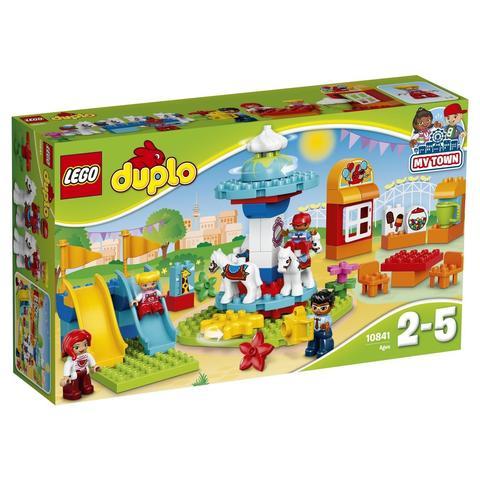 LEGO Duplo: Семейный парк аттракционов 10841 — Fun Family Fair — Лего Дупло