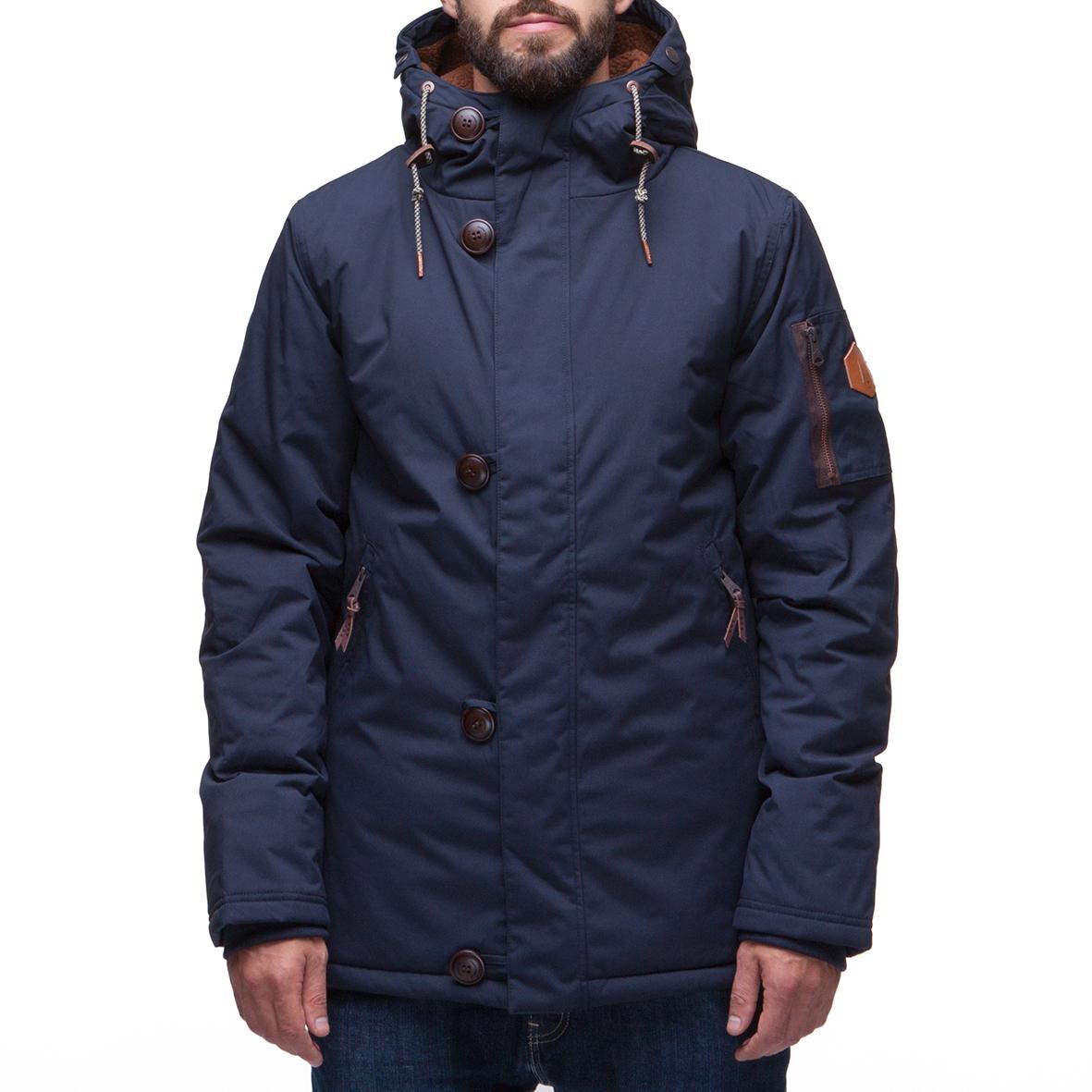 Куртка парка LOADING 8715 (M-01-2)  Темно-синий