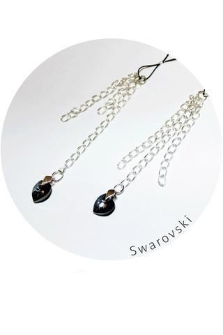 Бижутерия на соски с кристалами Swarovski ND001