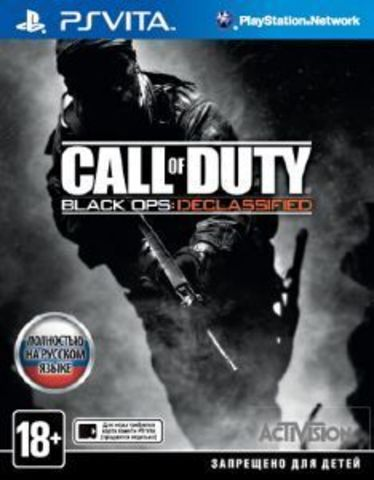 PS Vita Call of Duty: Black Ops Declassified (английская версия)