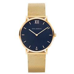 Унисекс немецкие часы Paul Hewitt, Sailor Line PH-SA-G-Sm-B-4M