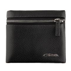 Мужское портмоне черного цвета Giorgio Ferretti 0095-3 black GF