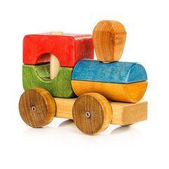 Паровозик деревянный Тутя