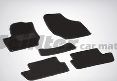 Ворсовые коврики LUX для CITROEN C4 (хетчбэк, 2004-2010)
