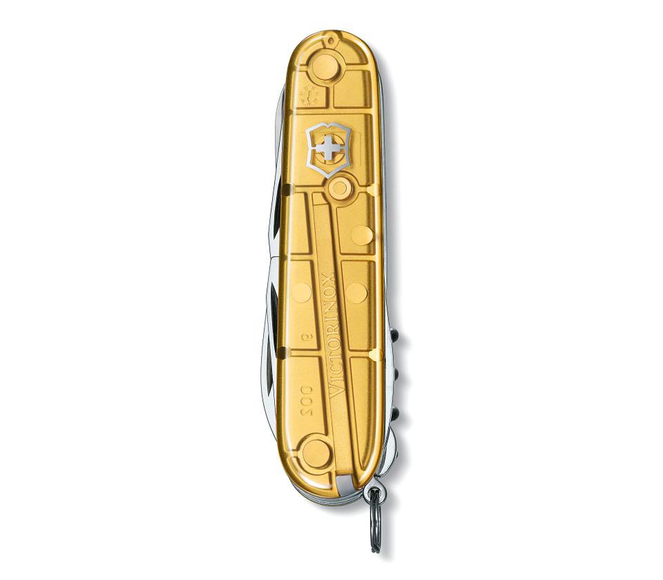 Швейцарский нож Victorinox Climber золотистый (1.3703.T88)
