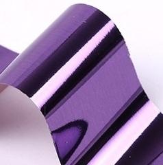 Фольга для ногтей пурпур темный
