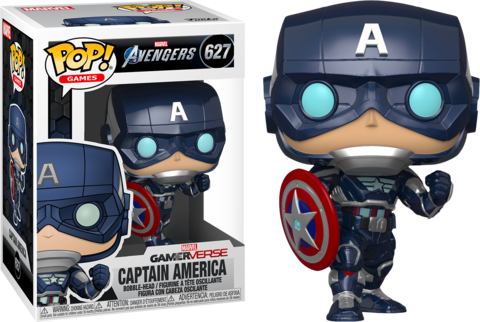 Фигурка Funko Pop! Games: Marvel's Avengers - Captain America