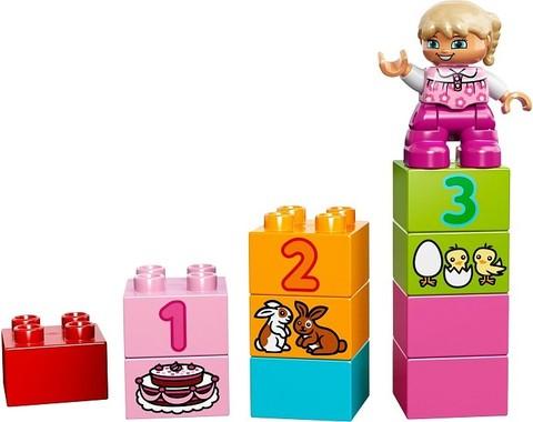 LEGO Duplo: Лучшие друзья: Курочка и кролик 10571 — All-in-One-Pink-Box-of-Fun — Лего Дупло