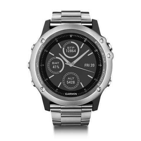 Купить Спортивные смарт часы Garmin Fenix 3 Sapphire Titanium с титановым браслетом (без датчика) 010-01338-41 по доступной цене