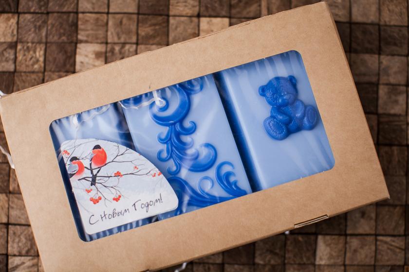 Коробка для мыла с окошком, размер 20х12х4 см