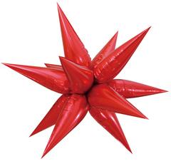 К Звезда составная, Красный, (26''/66 см) 1 шт.