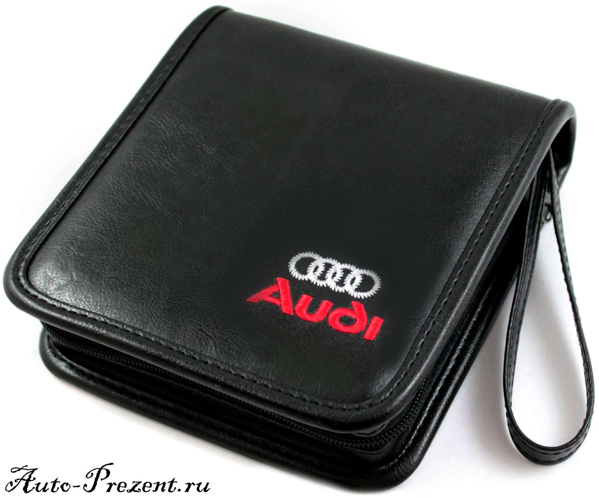Портмоне для cd, dvd дисков с логотипом AUDI