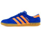Кроссовки Мужские Adidas Hamburg Suede Blue Orange