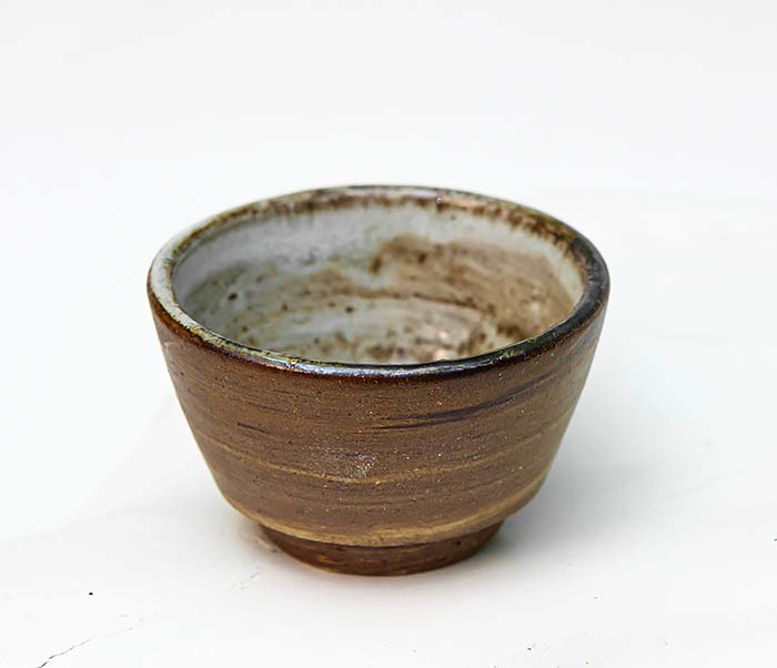 CUP109 Глиняная пиала ручной работы фото 02