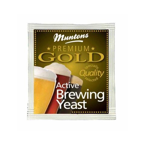 Дрожжи Muntons Premium Gold, 6 гр.