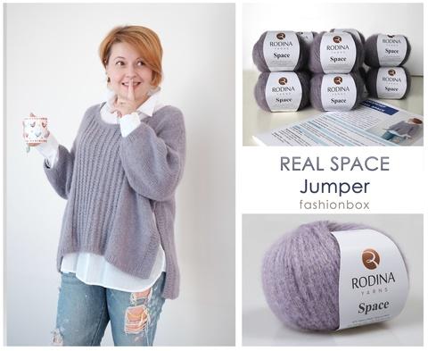 Real Space Jumper Fashionbox by Rodina Yarns