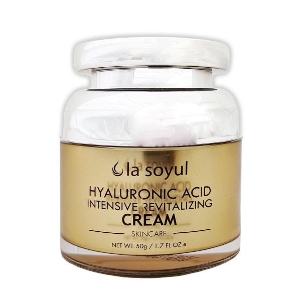 Крем с гиалуроновой кислотой для интенсивного восстановления кожи La Soyul Premium 50г