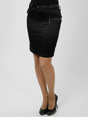 7385 юбка, черная