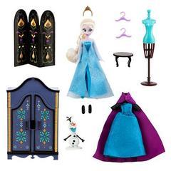 Игровой набор Мини кукла Эльза с гардеробом - Холодное сердце, Disney