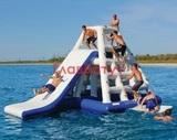 Надувной Остров на воде