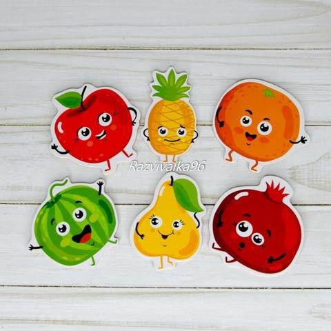 Пазл Веселые фрукты