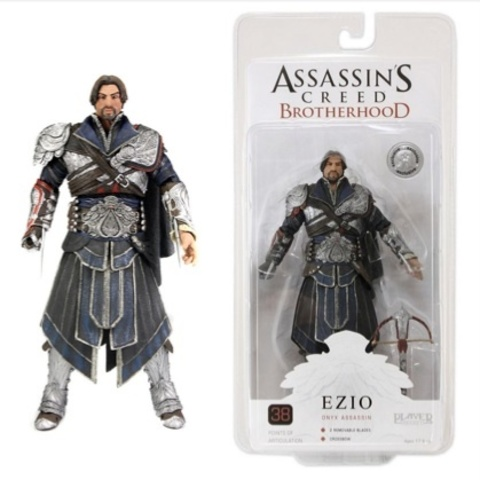 Assassin's Creed Brotherhood — Ezio Onyx Unhooded Costume