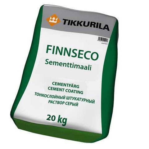 Финнсеко цементная краска - Finnseco