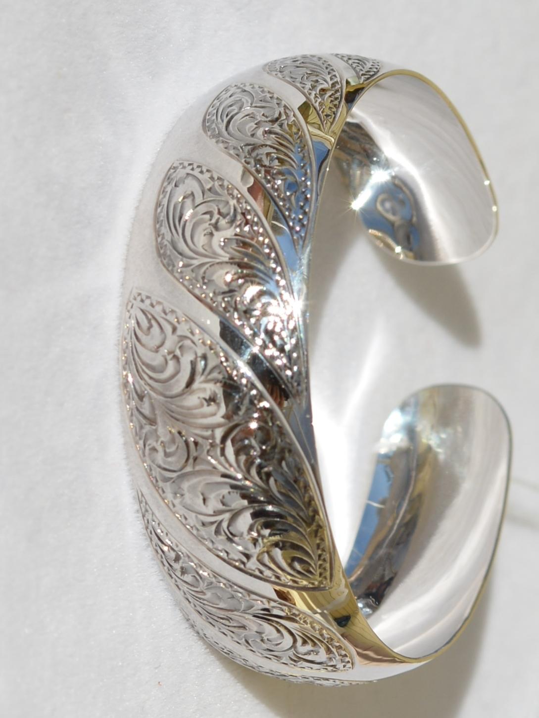 Сорби (серебряный браслет)