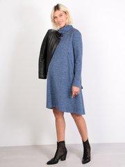 Евромама. Платье-трапеция трикотажное для беременных и кормящих, джинс