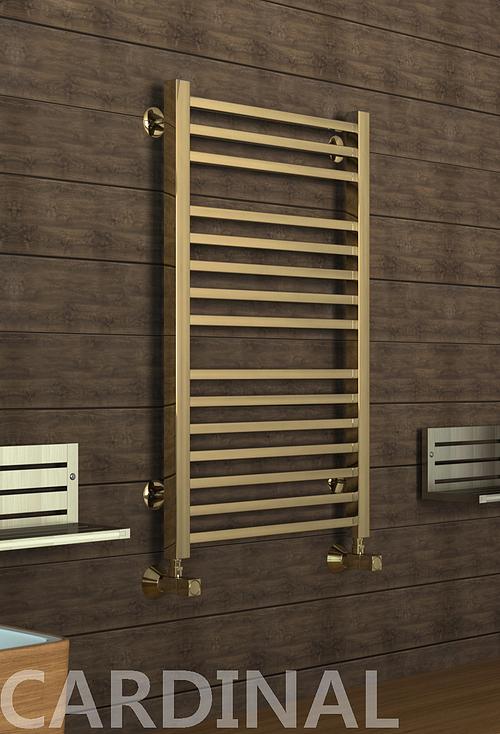Kardinal - бронзовый дизайн полотенцесушитель .