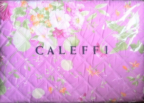 Покрывало 170х270 Caleffi Ikebana розовый