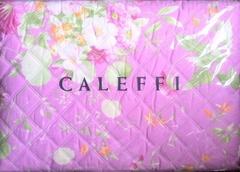 Покрывало 170х270 Caleffi Ikebana цикламен