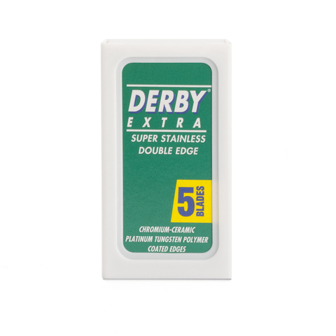 Derby Extra Double Edge Razor Blade - Сменные лезвия для бритья 5 шт