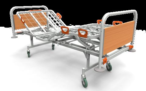 Кровать медицинская функциональная КФ-4 - фото