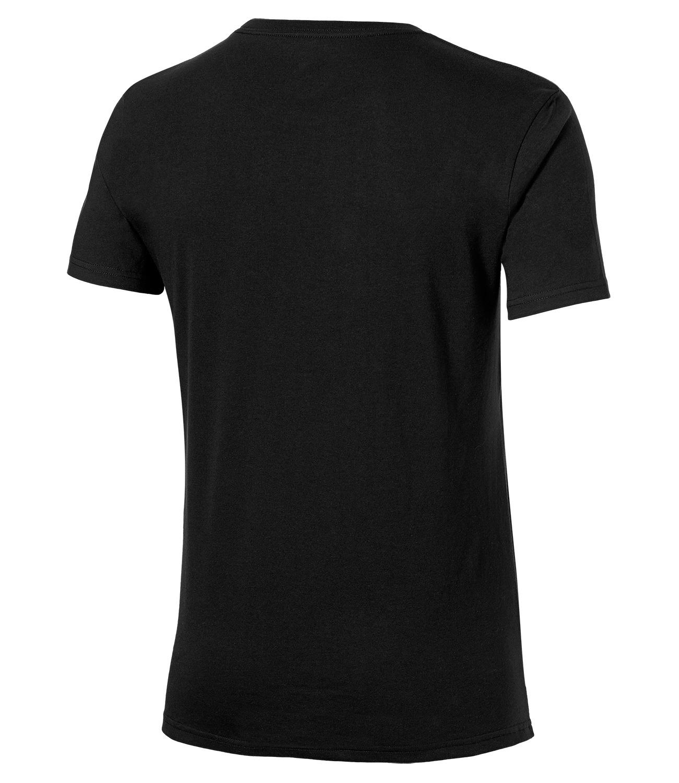 Мужская спортивная футболка Asics Camou Logo SS Top (131529 0904) черная фото