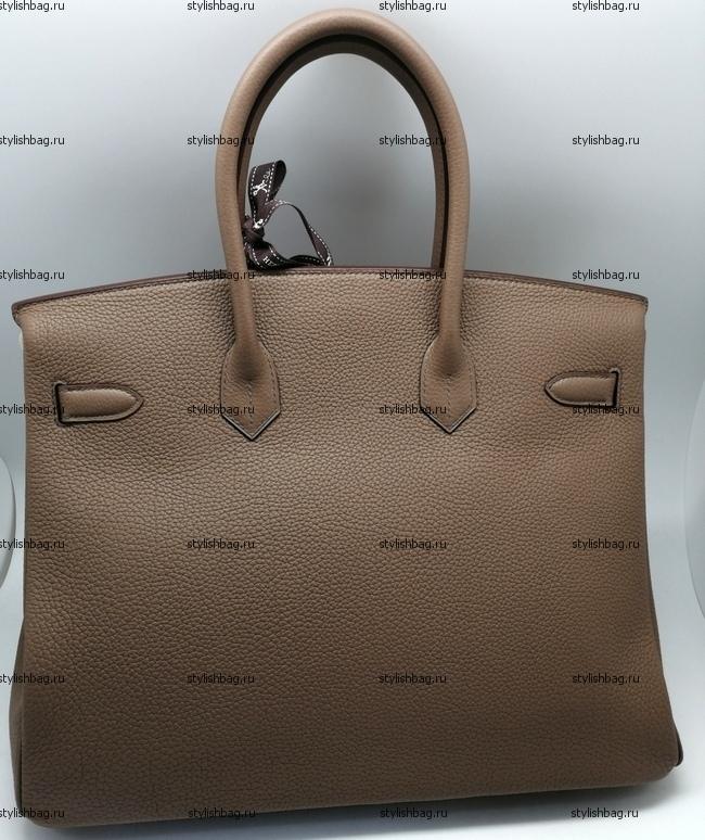 Женская сумка Hermes Birkin 35 bege togo