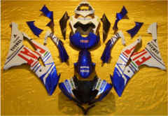 Комплект пластика для мотоцикла Yamaha YZF-R6 08-15 Fiat 2