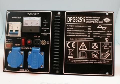 Панель контрольная DDE DPG3251i