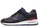 Кроссовки Мужские New Balance 997 Made In USA Dark Blue Red