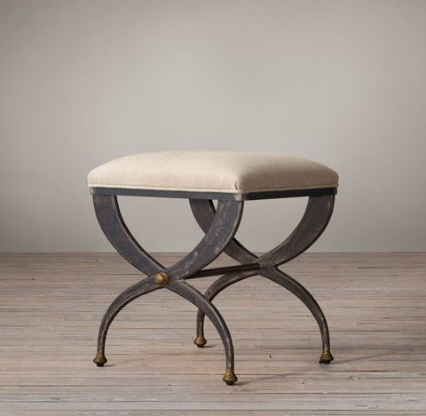 19th C. French S-Curve Stool