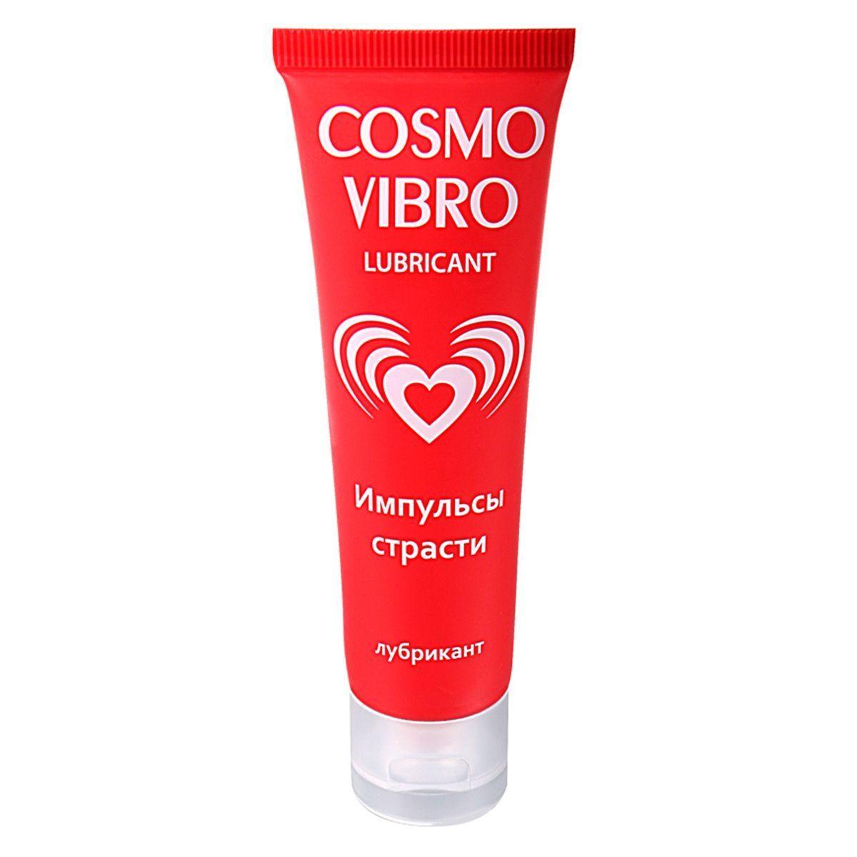 Возбуждающие: Женский стимулирующий лубрикант на силиконовой основе Cosmo Vibro - 50 гр.