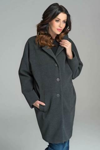 Пальто для беременных 07630 серый