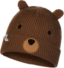 Вязаная шапка Buff Hat Knitted Funn Bear Fossil