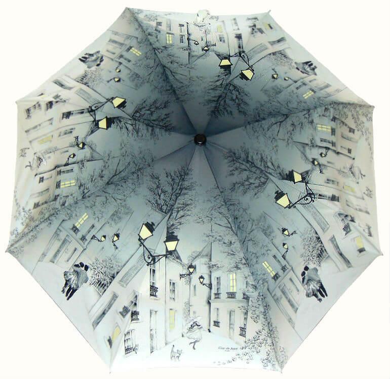 Зонт складной Guy de Jean 6414 Balade au crépuscule