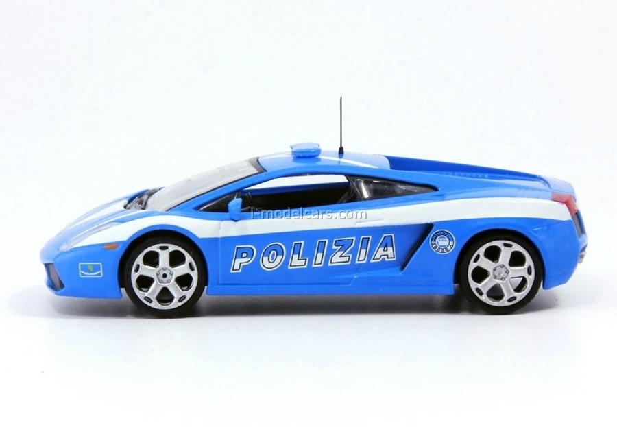 Lamborghini Gallardo Police Italy 1:43 DeAgostini World's Police Car #20